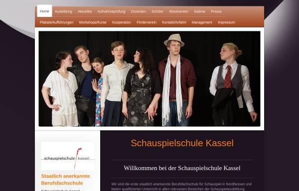 Vorschau von schauspielschule-kassel.de, Schauspielschule Kassel