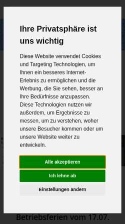 Vorschau der mobilen Webseite www.direct-getraenke.de, Direct Getränke