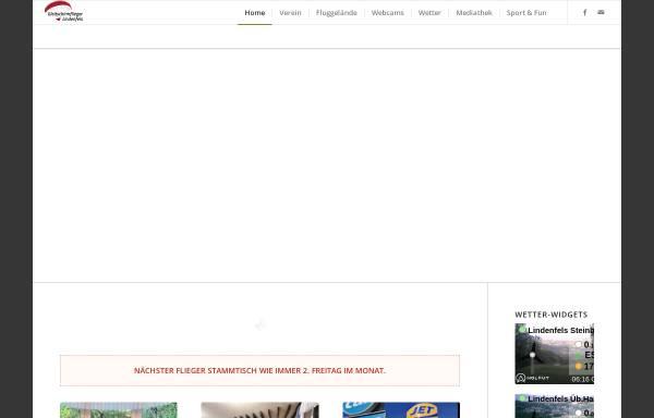 Vorschau von www.gleitschirmflieger-lindenfels.de, Gleitschirmflieger Lindenfels