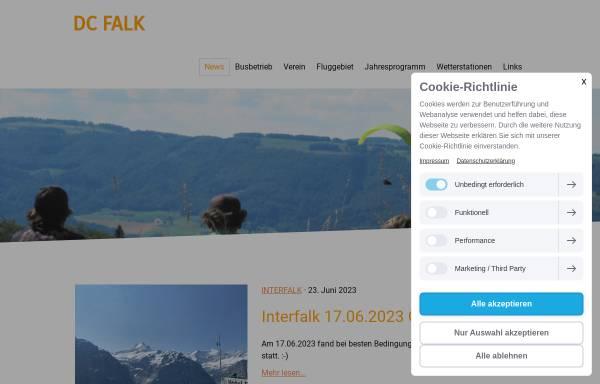 Vorschau von www.dcfalk.ch, Delta Club Falk Balsthal