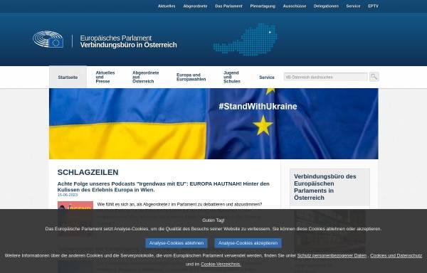 Vorschau von www.europarl.at, Informationsbüro für Österreich
