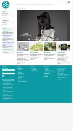 Vorschau der mobilen Webseite www.praeparation.de, Verband Deutscher Präparatoren e.V.