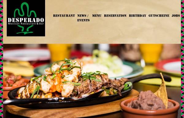 Vorschau von www.desperado.ch, Mexican Restaurant-Bar Desperado