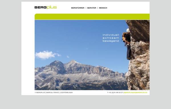 Vorschau von www.bergplus.ch, Bergplus