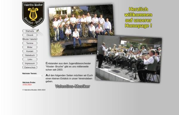 Vorschau von www.valentins-musiker.de, Valentins-Musiker