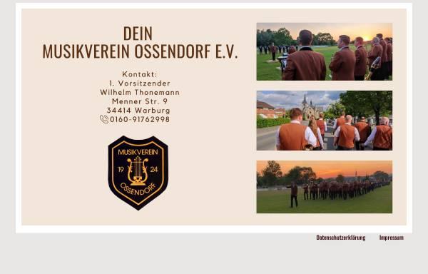 Vorschau von www.musikverein-ossendorf.de, Musikverein Ossendorf e.V.