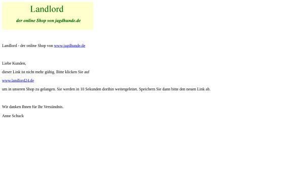 Vorschau von www.jagdhunde.de, Landlord