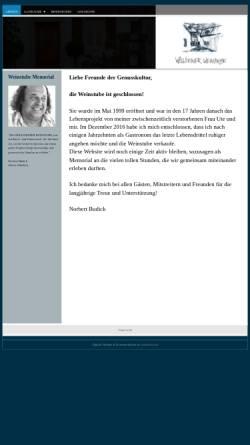 Vorschau der mobilen Webseite www.woellsteiner-weinstube.de, Wöllsteiner Weinstube