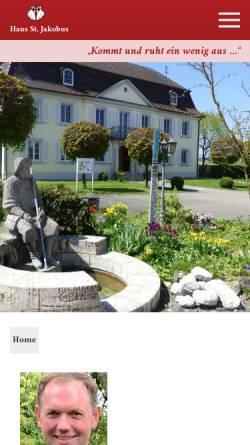 Vorschau der mobilen Webseite haus-st-jakobus.de, Stiftung Haus St. Jakobus