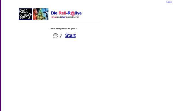 Vorschau von www.dober.de, Reli-Rallye