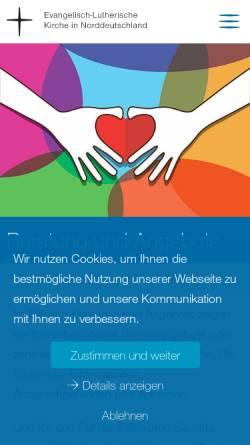 Vorschau der mobilen Webseite www.seelsorge-im-netz.de, seelsorge-im-netz.de