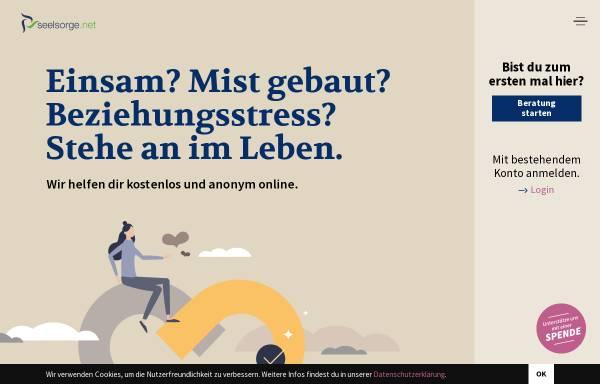 Vorschau von www.seelsorge.net, Seelsorge.net