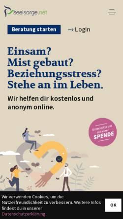 Vorschau der mobilen Webseite www.seelsorge.net, Seelsorge.net