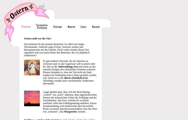 Vorschau von www.was-ist-ostern.de, Was ist Ostern?