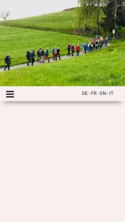 Vorschau der mobilen Webseite www.bethlehem-mission.ch, Bethlehem Mission Immensee