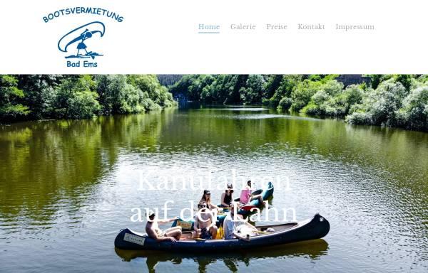 Vorschau von www.canutours.de, Bootsvermietung Bad Ems
