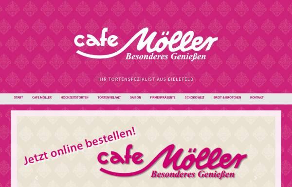 Vorschau von www.cafe-moeller.de, Cafe Möller