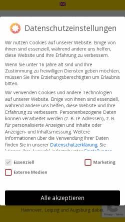 Vorschau der mobilen Webseite www.allround.de, Allround-Autovermietung, Inh. Herman Weisner