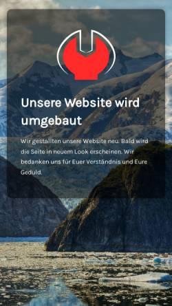 Vorschau der mobilen Webseite www.autos-weine.de, Autos+Weine Autovermietung und Weinhandlung GmbH