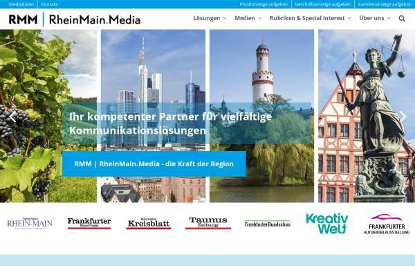 Vorschau von www.rmm.de, RheinMainMedia