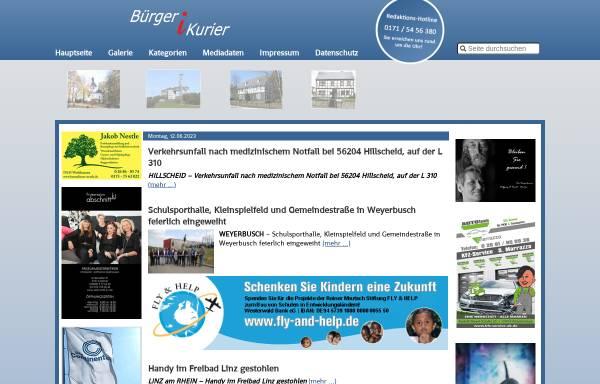 Vorschau von www.report-ak.de, Bürgerkurier