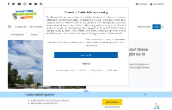 Vorschau von www.mt.de, Mindener Tageblatt
