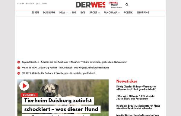 Vorschau von www.derwesten.de, Der Westen