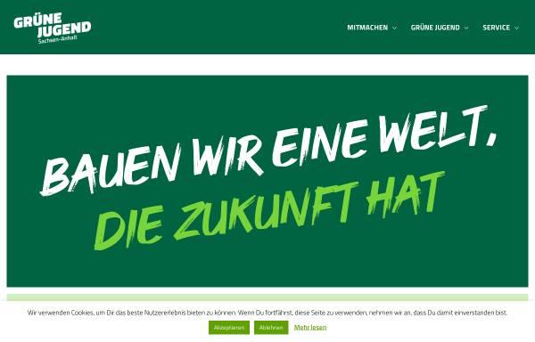 Vorschau von gruenejugend-lsa.de, Grüne Jugend Sachsen-Anhalt