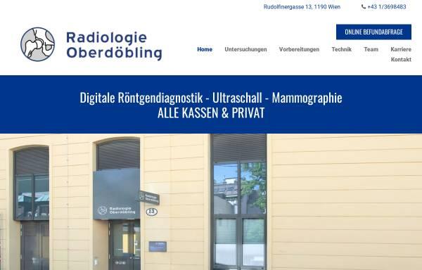Vorschau von www.radiologisch.at, Radiologie Dr. Wolfgang Wolf, Radiologe Wien 1190
