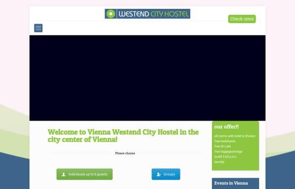 Vorschau von www.westendhostel.at, Westend City Hostel