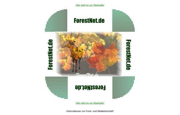 Vorschau von www.forestnet.de, ForestNet.de