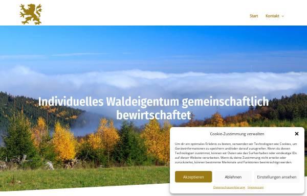 Vorschau von www.rentkammer-wittgenstein.de, Rentkammer Wittgenstein