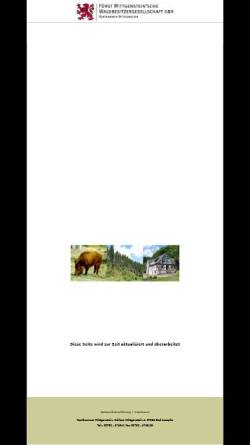 Vorschau der mobilen Webseite www.rentkammer-wittgenstein.de, Rentkammer Wittgenstein