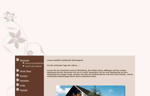 Vorschau von www.haus-werth.de, Ferienwohnung Werth