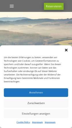 Vorschau der mobilen Webseite www.hesbornerkuckuck.de, Zum Hesborner Kuckuck