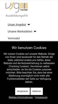 Vorschau der mobilen Webseite www.produktionsschule.at, Factory - Die Produktionsschule