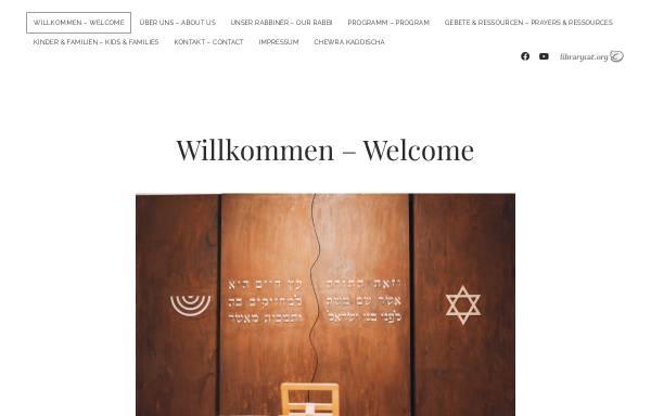 Vorschau von www.orchadasch.at, Jüdische liberale Gemeinde Wien