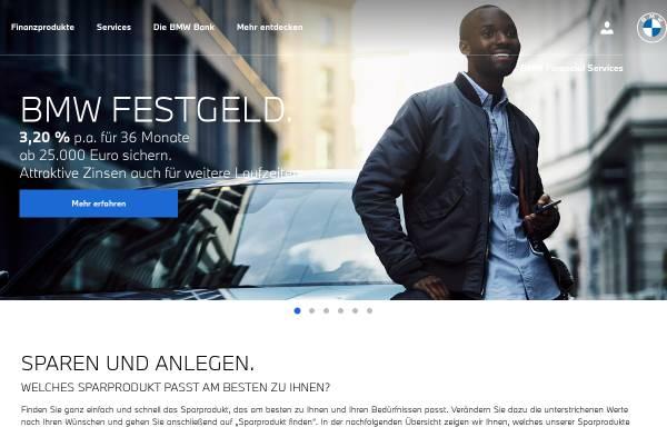 Vorschau von www.bmwbank.de, BMW Bank GmbH