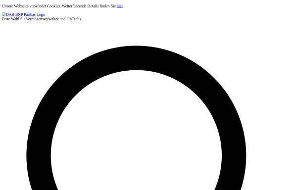Vorschau von www.dab-bank.de, DAB bank AG