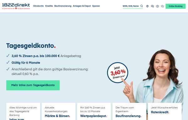Vorschau von www.1822direkt.de, 1822direkt