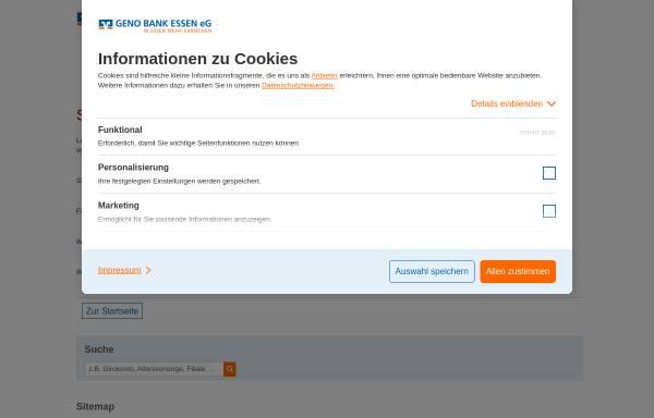 Vorschau von www.genobank.de, Geno Direkt - Geno Bank Essen eG