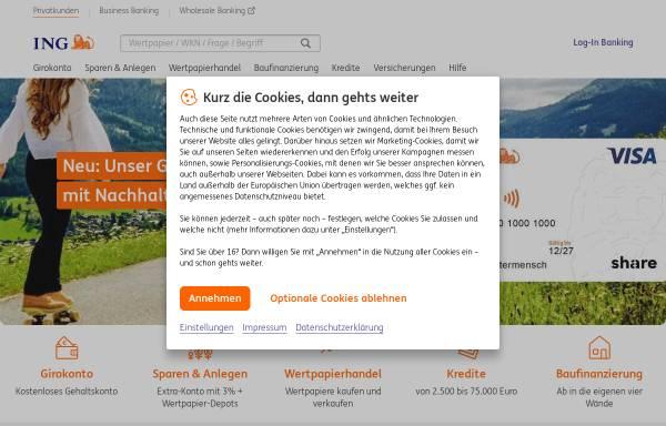 Vorschau von www.ing-diba.de, ING-DiBa AG