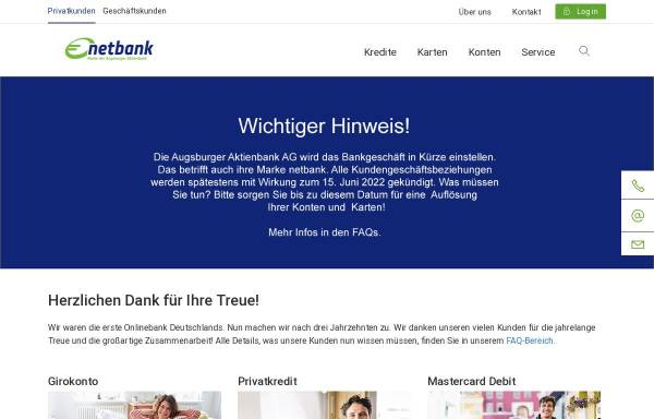 Vorschau von www.netbank.de, NetBank