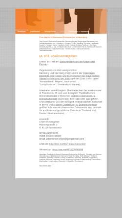 Vorschau der mobilen Webseite www.uebersetzer-chalit.de, Chalit Durongphan
