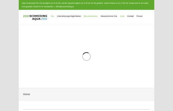 Vorschau von www.zooschmiding.at, Zoo Schmiding