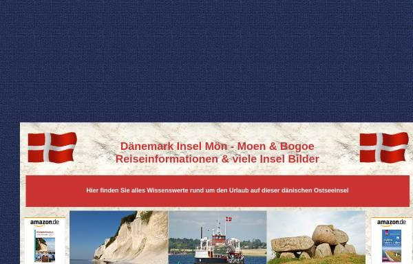Vorschau von www.daenemark-moen.de, Insel Mön [Heinz Hahn]