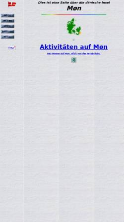 Vorschau der mobilen Webseite klaus-rasmussen.de, Insel Møn [Klaus Rasmußen]