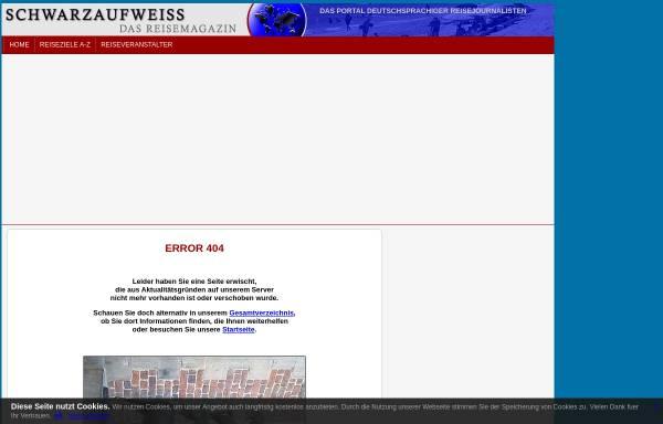 Vorschau von www.schwarzaufweiss.de, Legoland und Dünenstrand [Dirk Schröder]