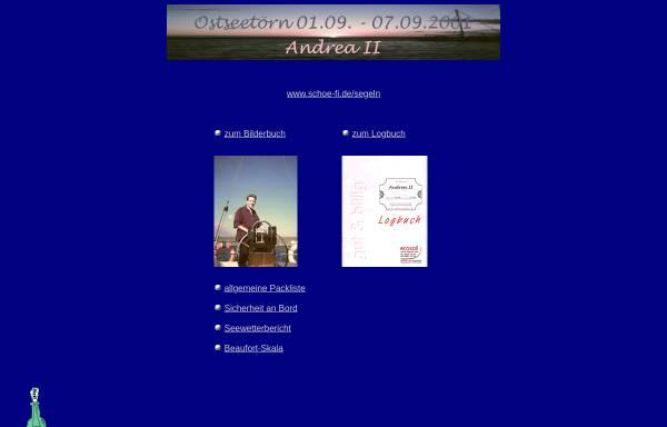 Vorschau von schoefi.purespace.de, Segeltörn Ostsee 2001 [Christian Schöfisch]
