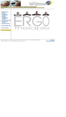 Vorschau der mobilen Webseite www.senghaas-ergotherapie.de, Praxis für Ergotherapie Christian Senghaas